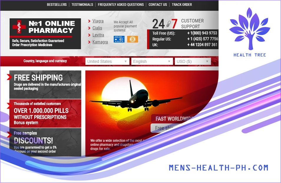 Mens-health-ph.com Review – Sells a Variety of Medicines for Various Uses